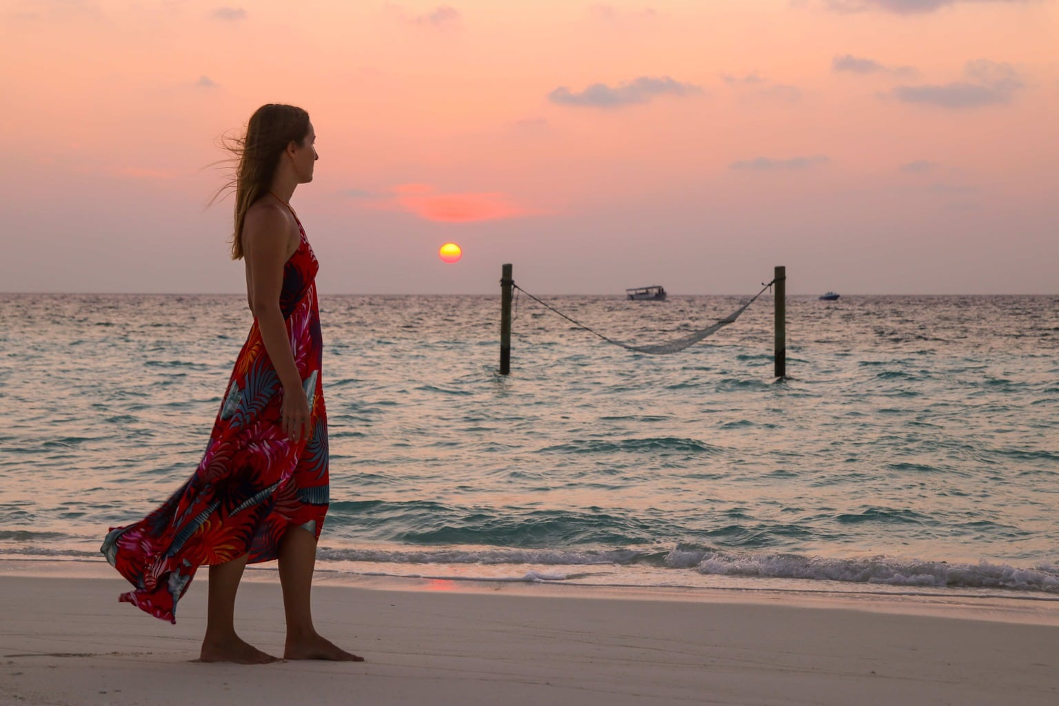 Sunset at Soneva Fushi