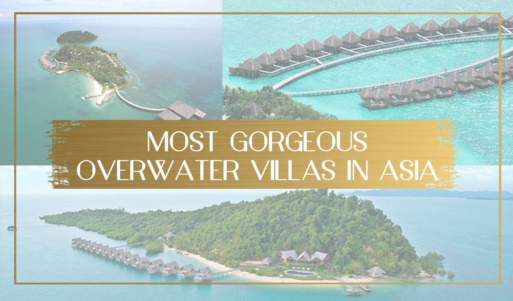gorgeous overwater bungalows in Asia main
