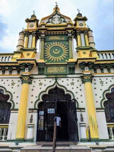 Abdul Gafoor Mosque entrance