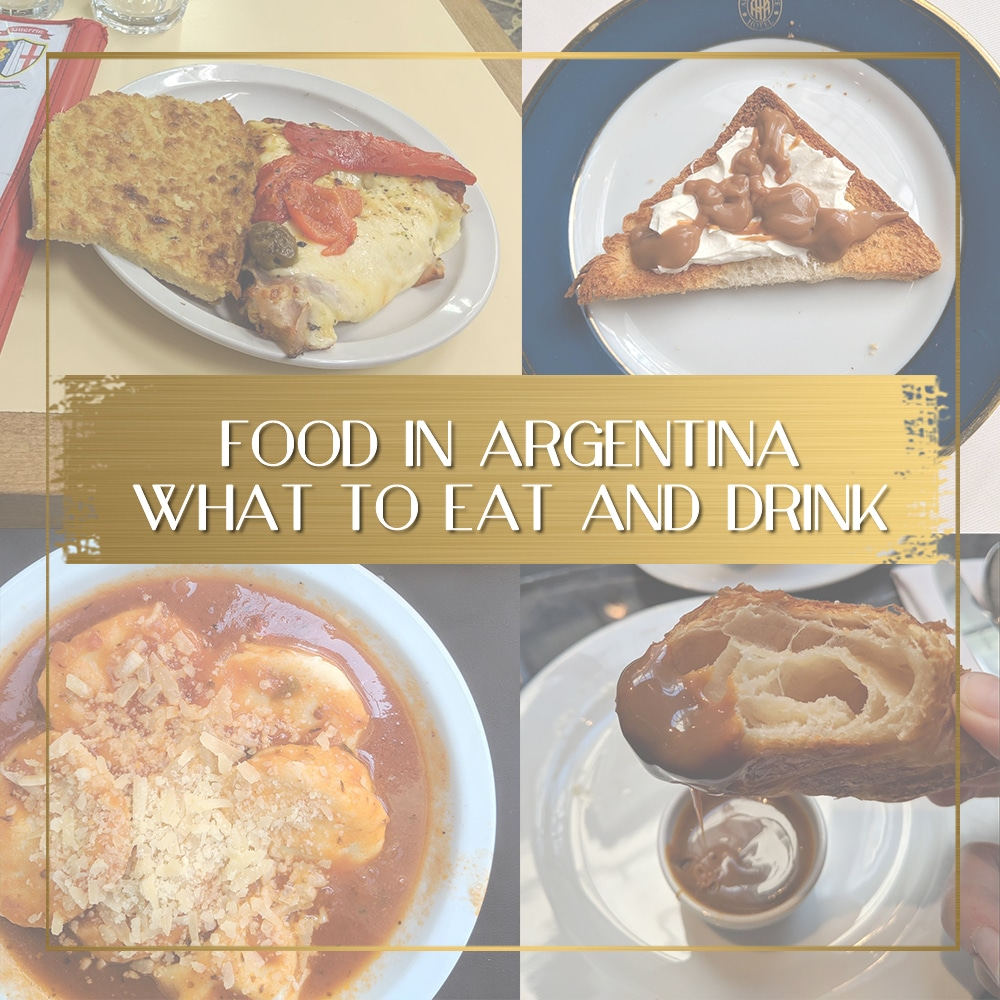 Food in Argentina feature