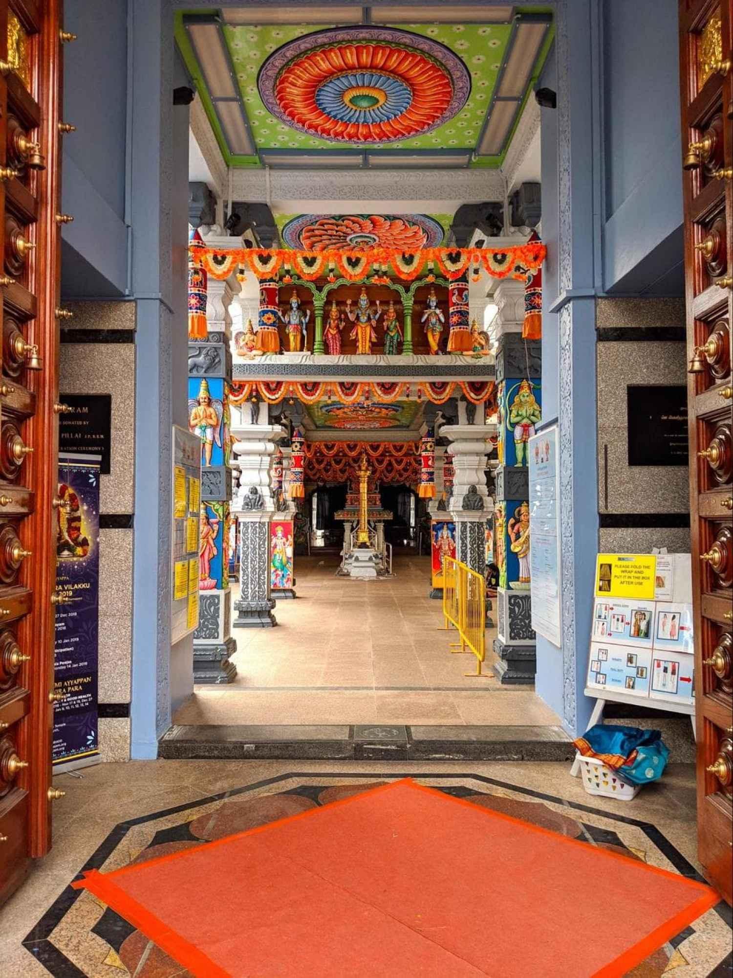 Sri Srinivasa Perumal Temple interior