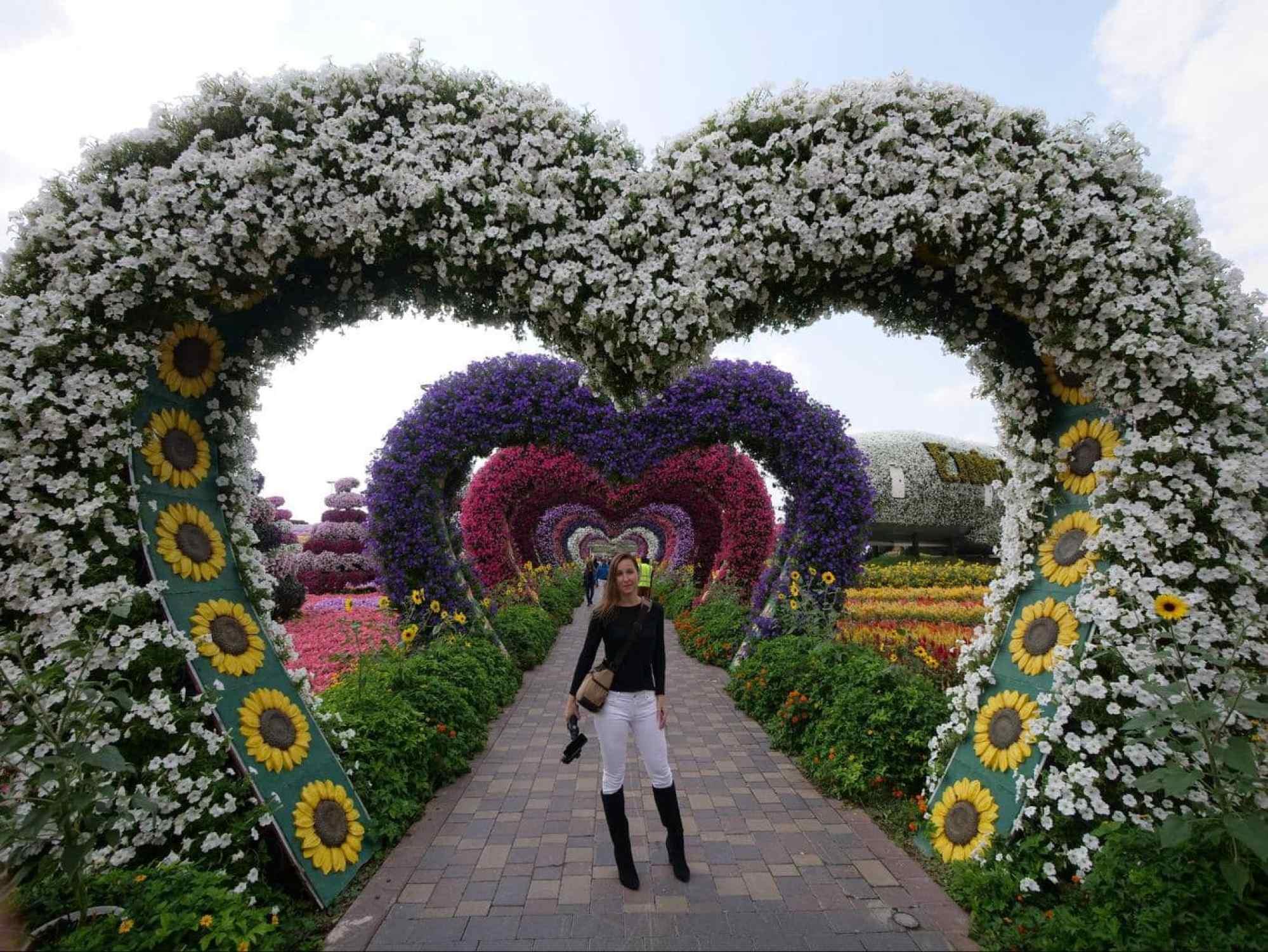 Dubai Miracle Garden flowers