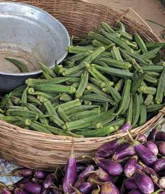 Georgetown market vegetables