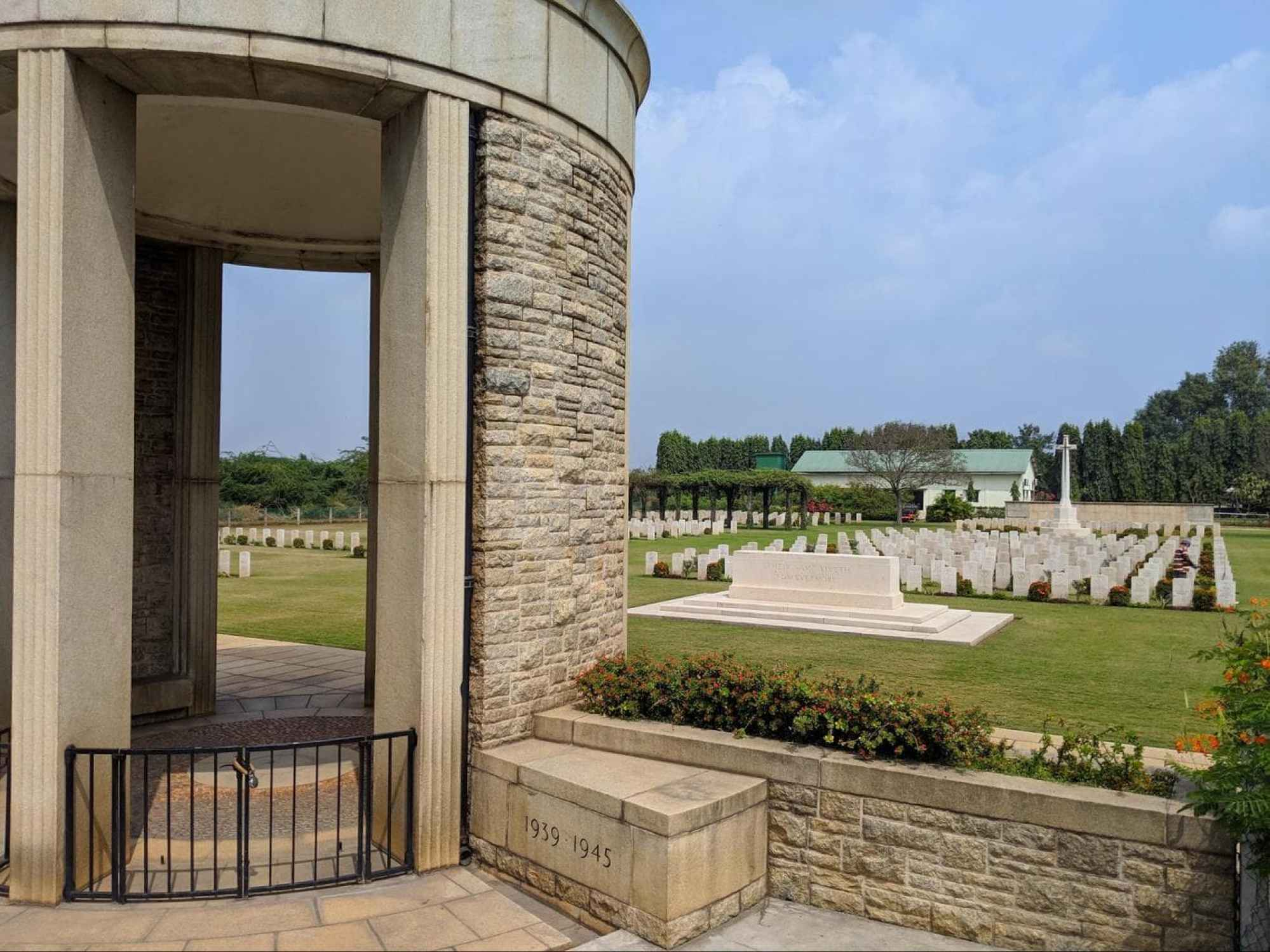 Madras War Cemetery memorial