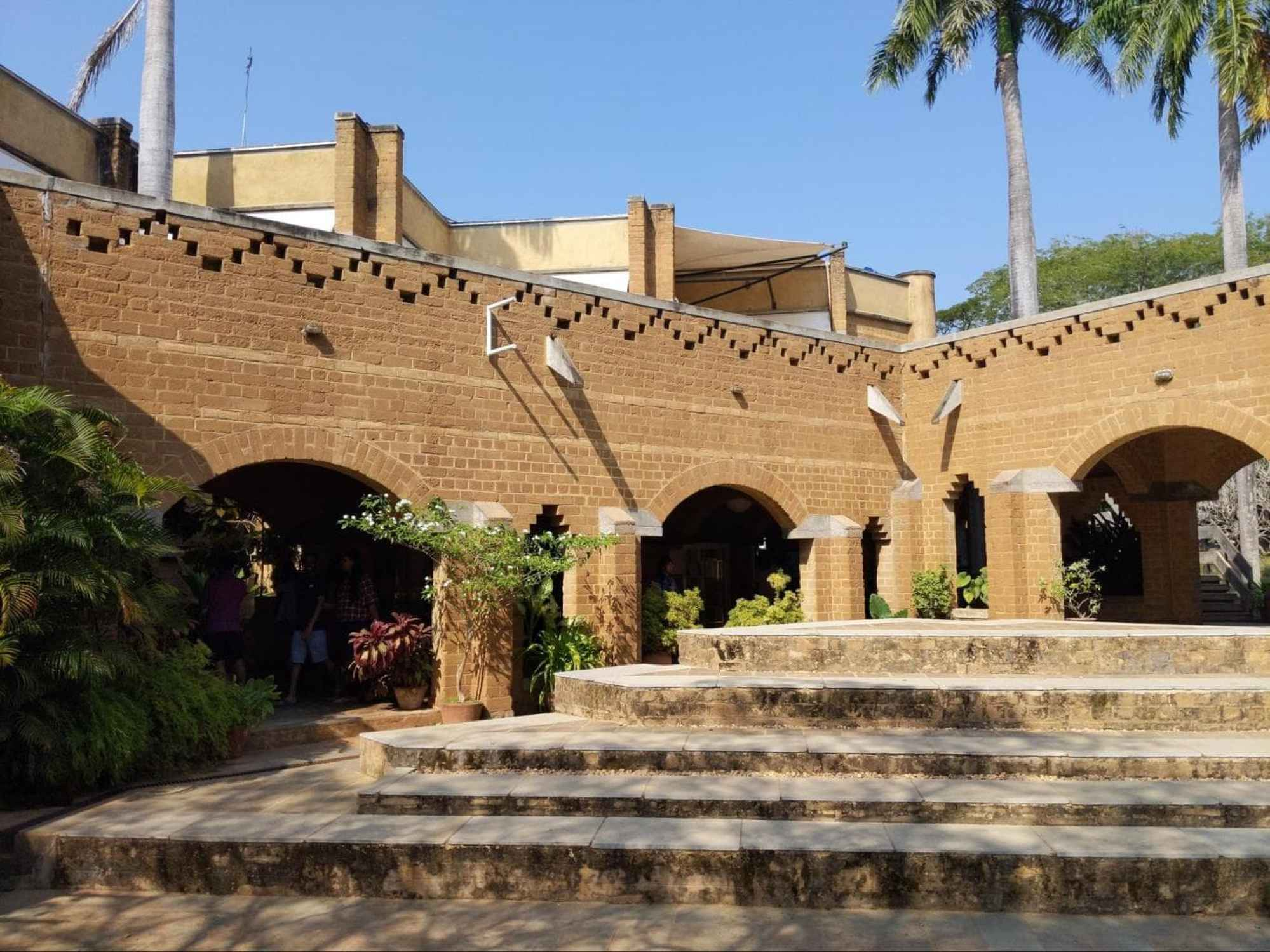 Main areas of Auroville
