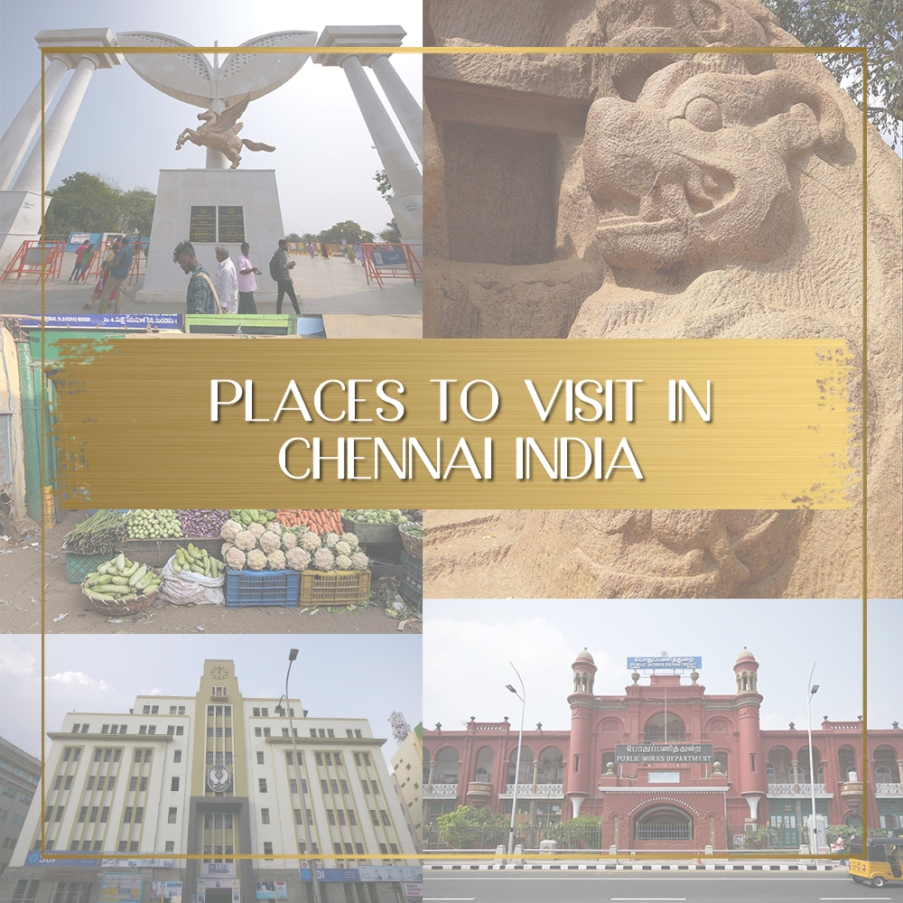 Places to visit in Chennai feature
