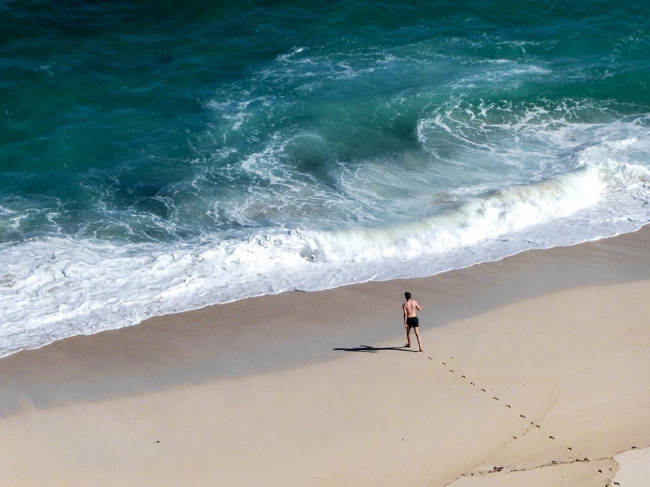 Pristine Blue Flag beaches in Cape Town