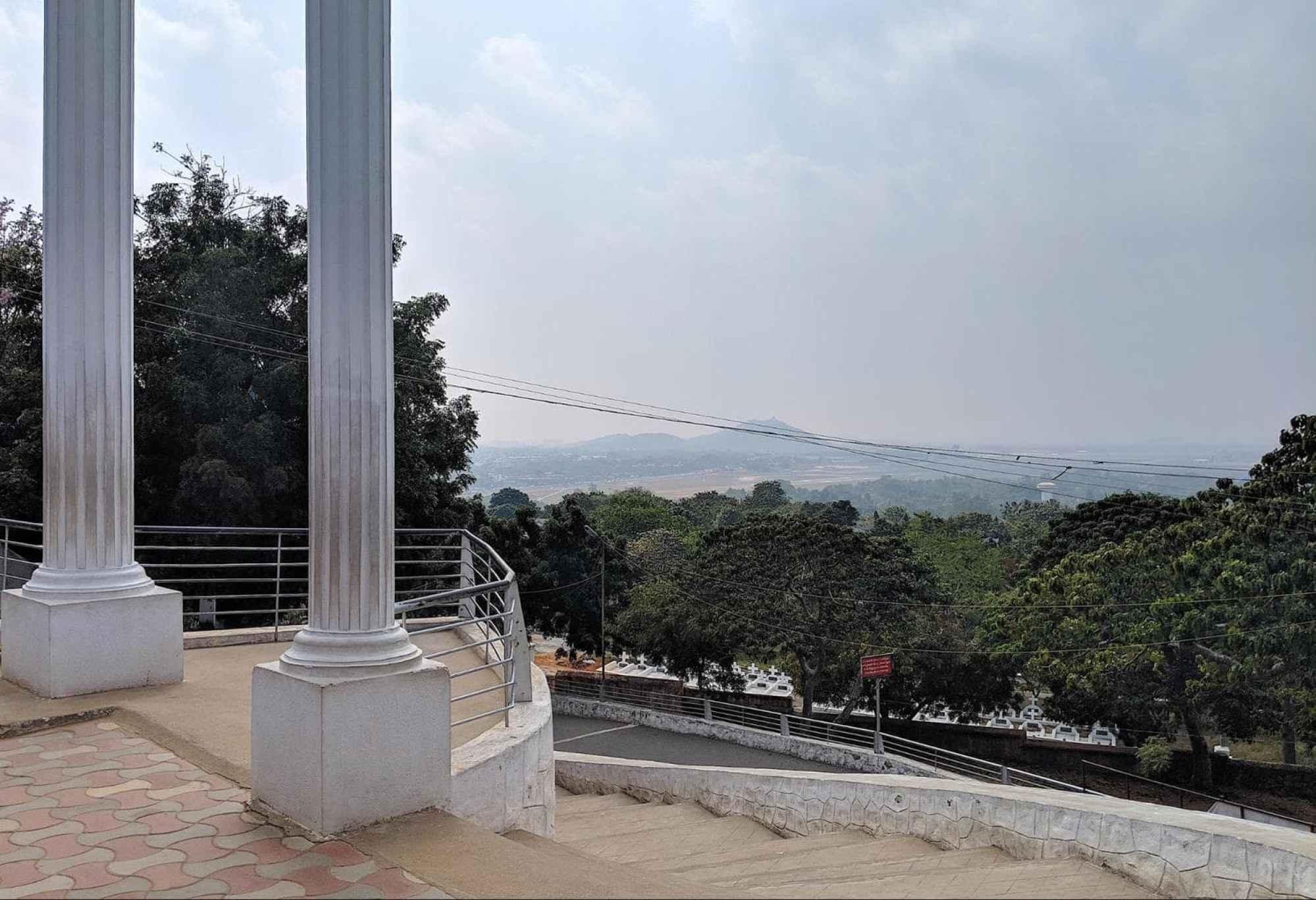 St. Thomas Mount National Shrine view