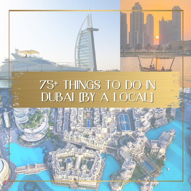 Places to visit in Dubai feature