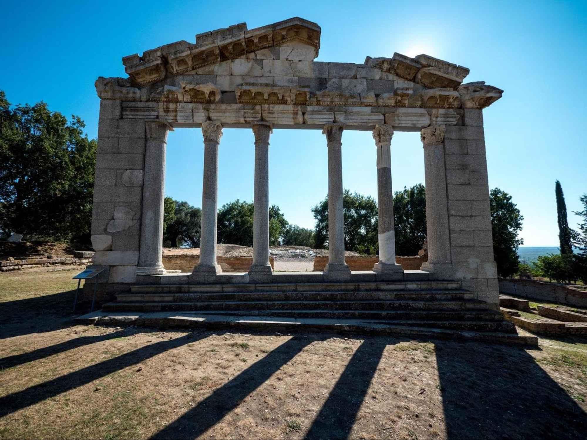 Apollonia Archaeological Park stoa