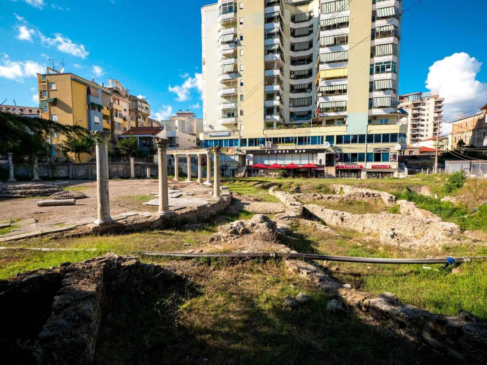Byzantine forum for Durres