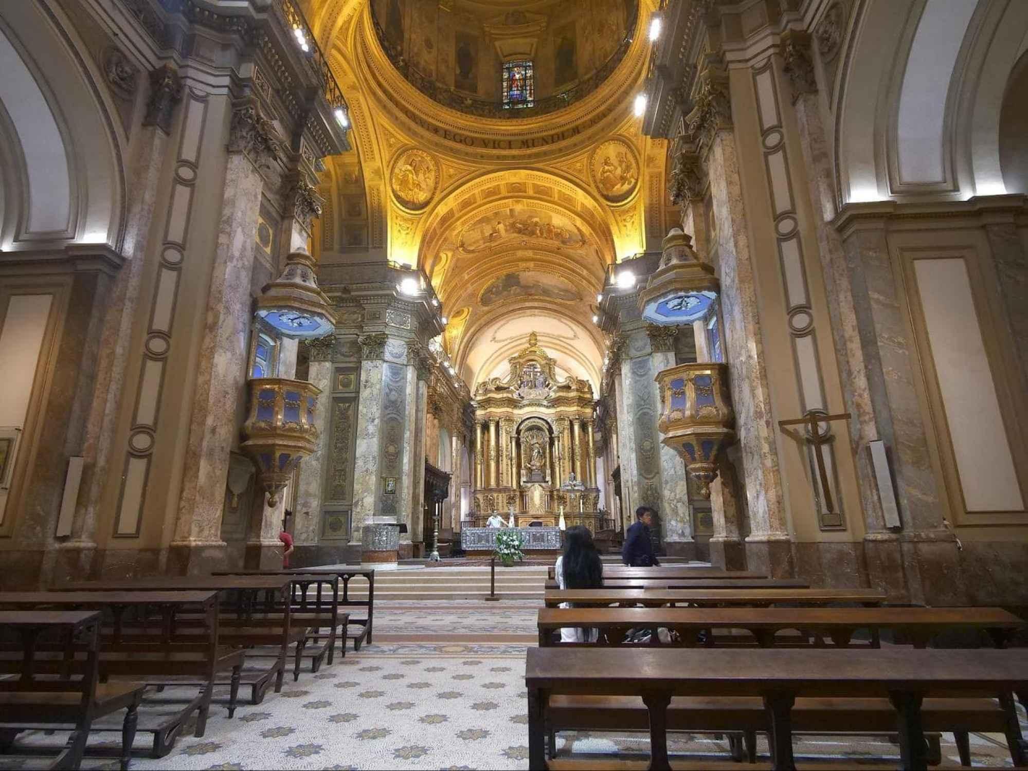 Catedral Metropolitana de Buenos Aires interior