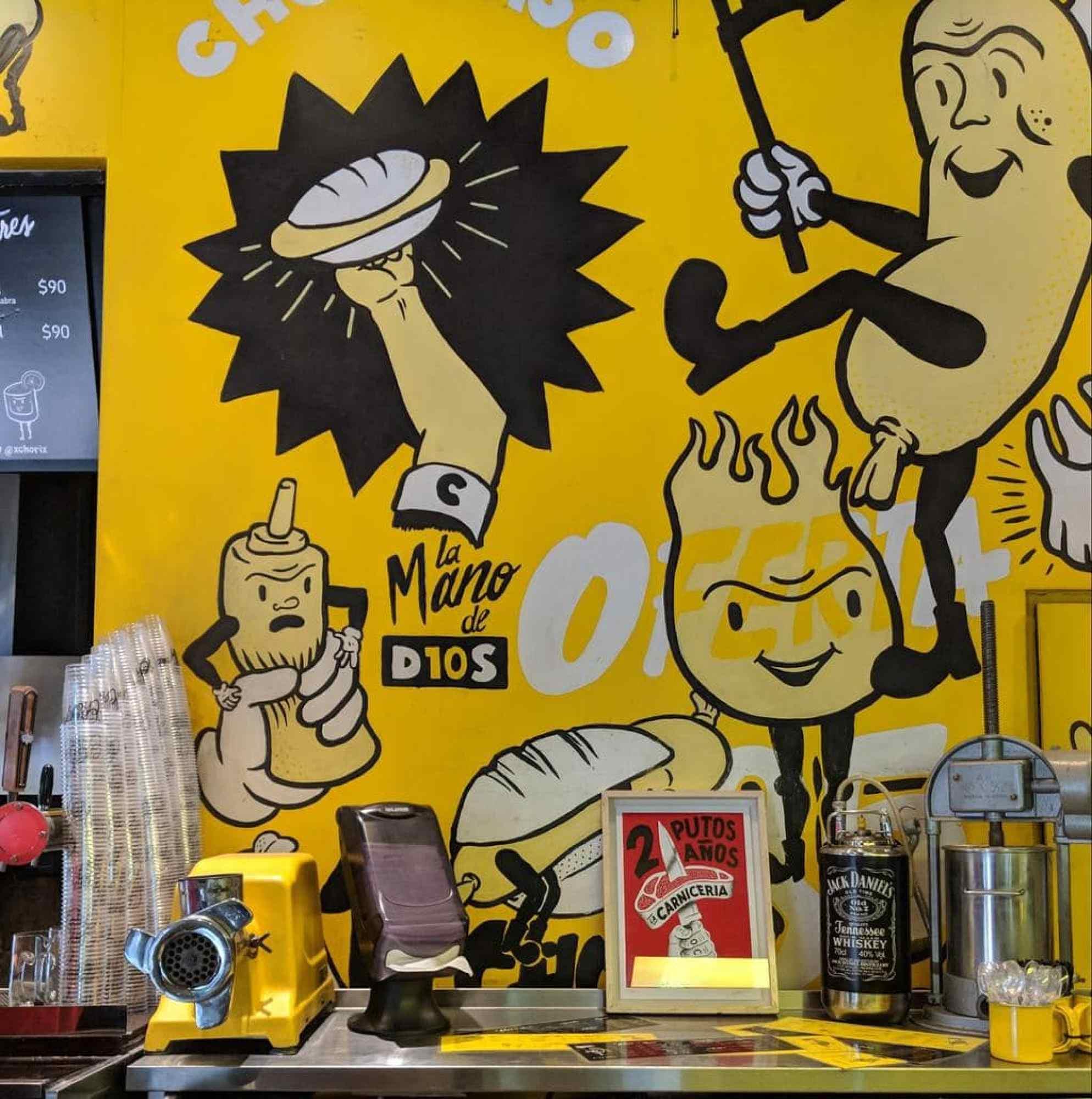 Chori mural