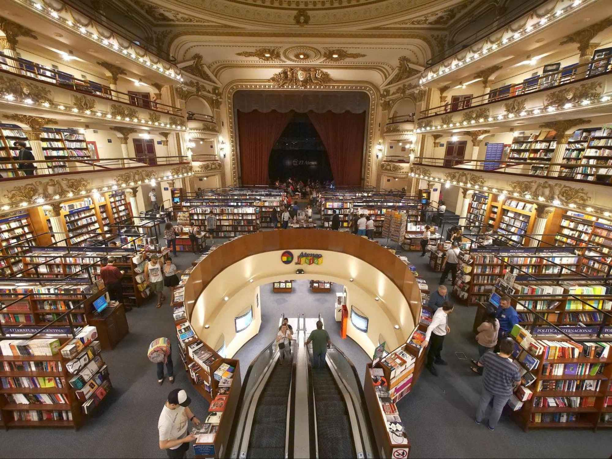 El Ateneo Grand Splendid interior