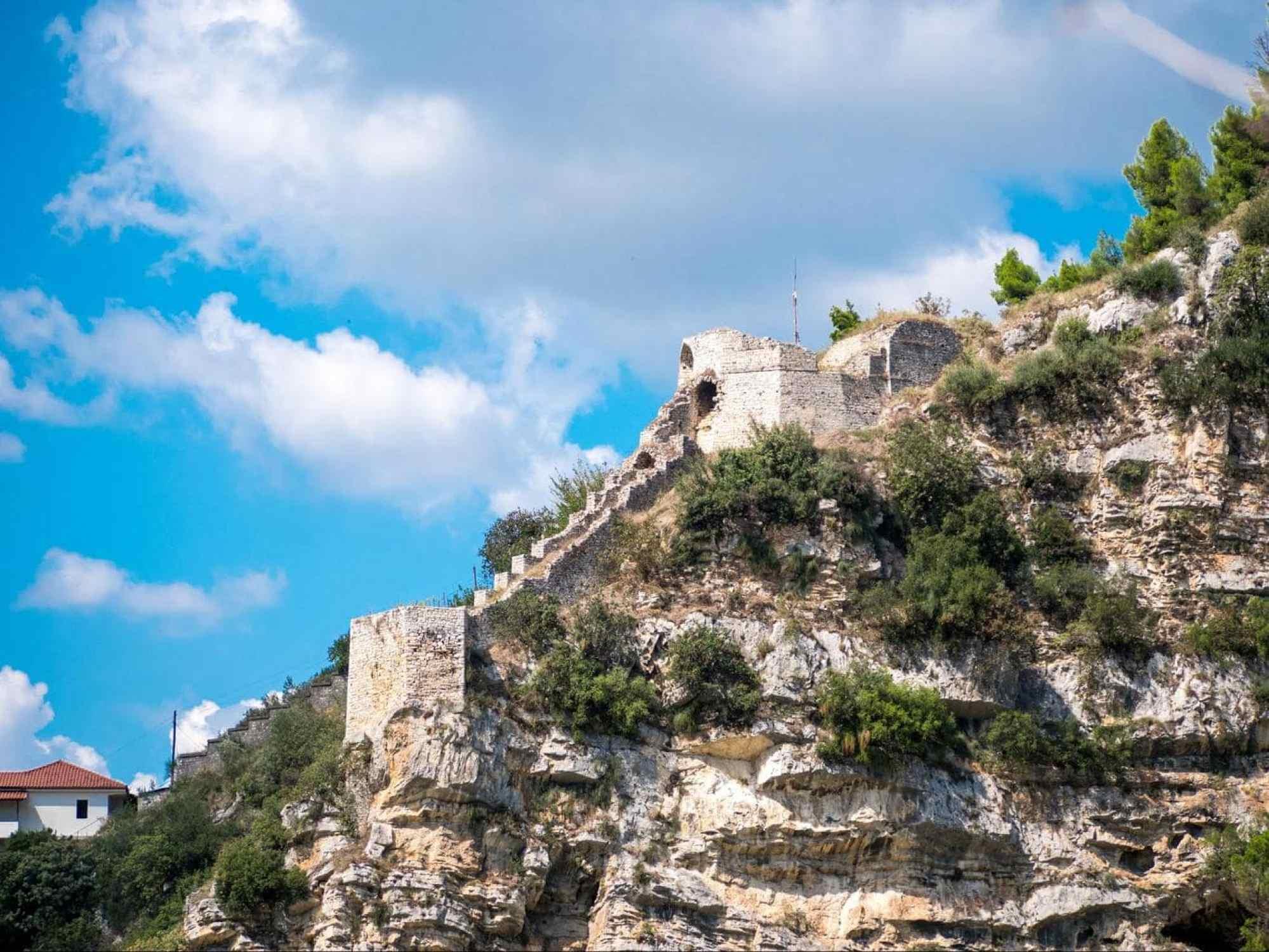 Gallery walls of Berat