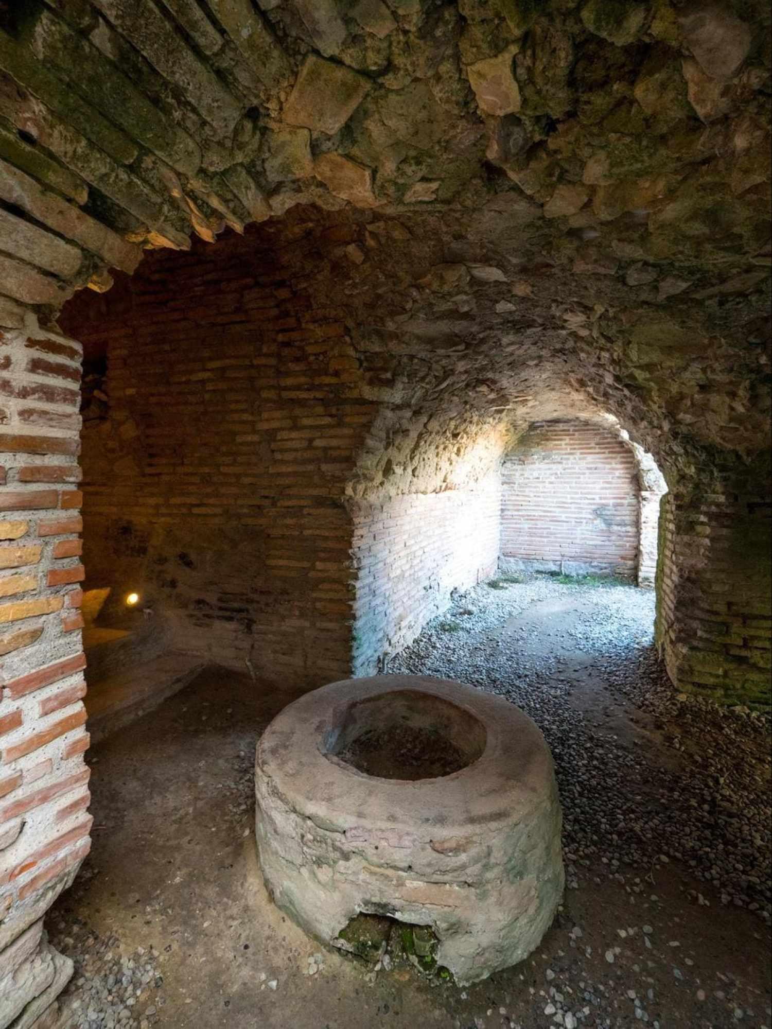 Interior Roman Amphitheatre of Durres