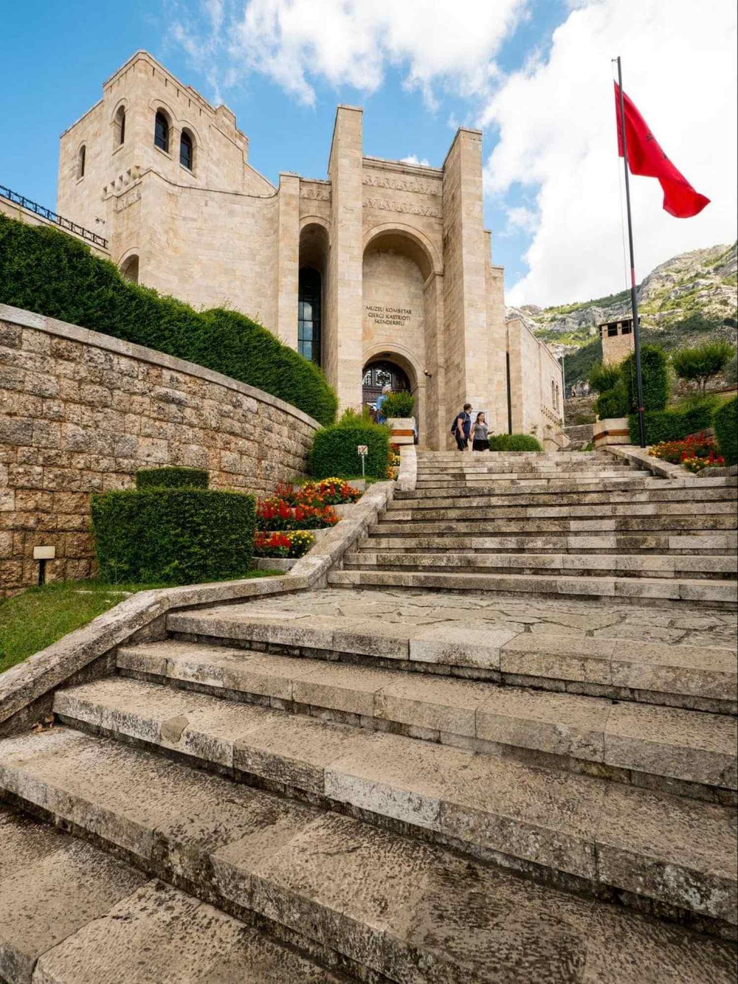 Kruje Castle entrance