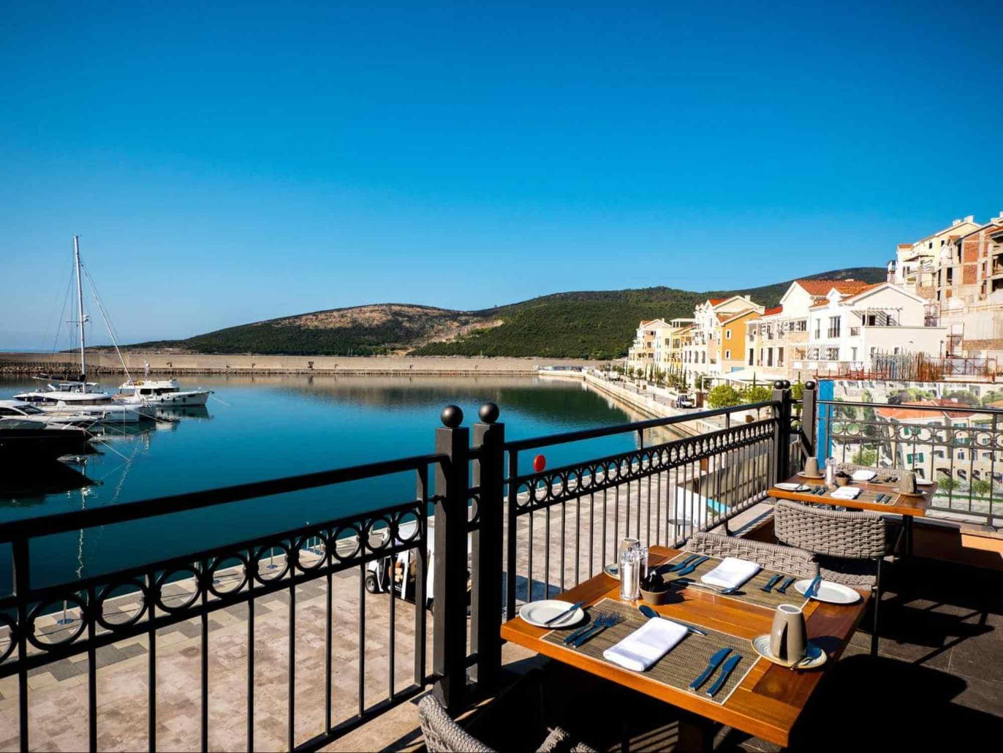 Lustica Bay views