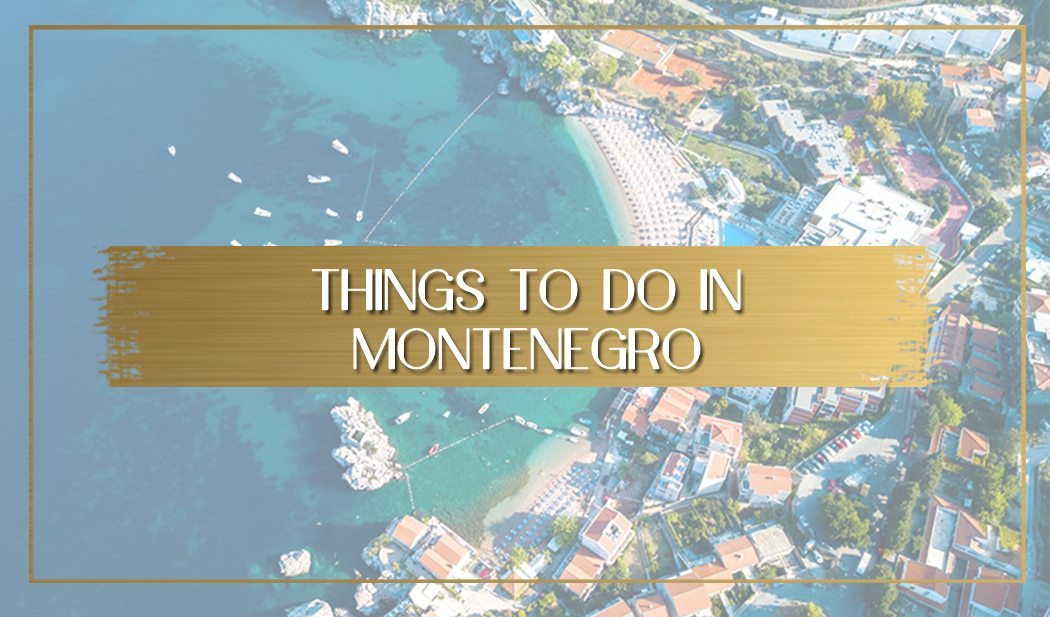 Montenegro travel main