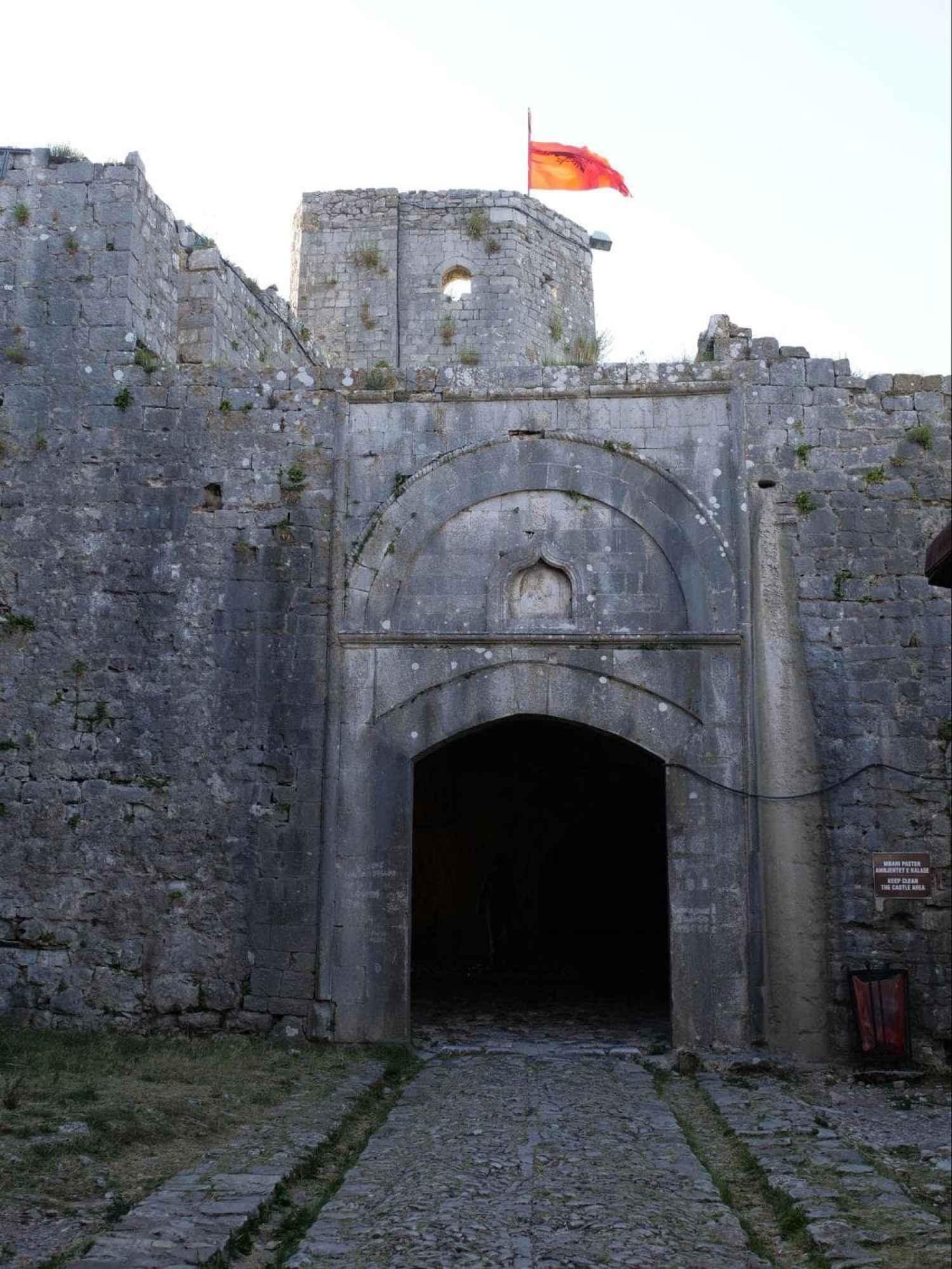 Rozafa Castle entrance