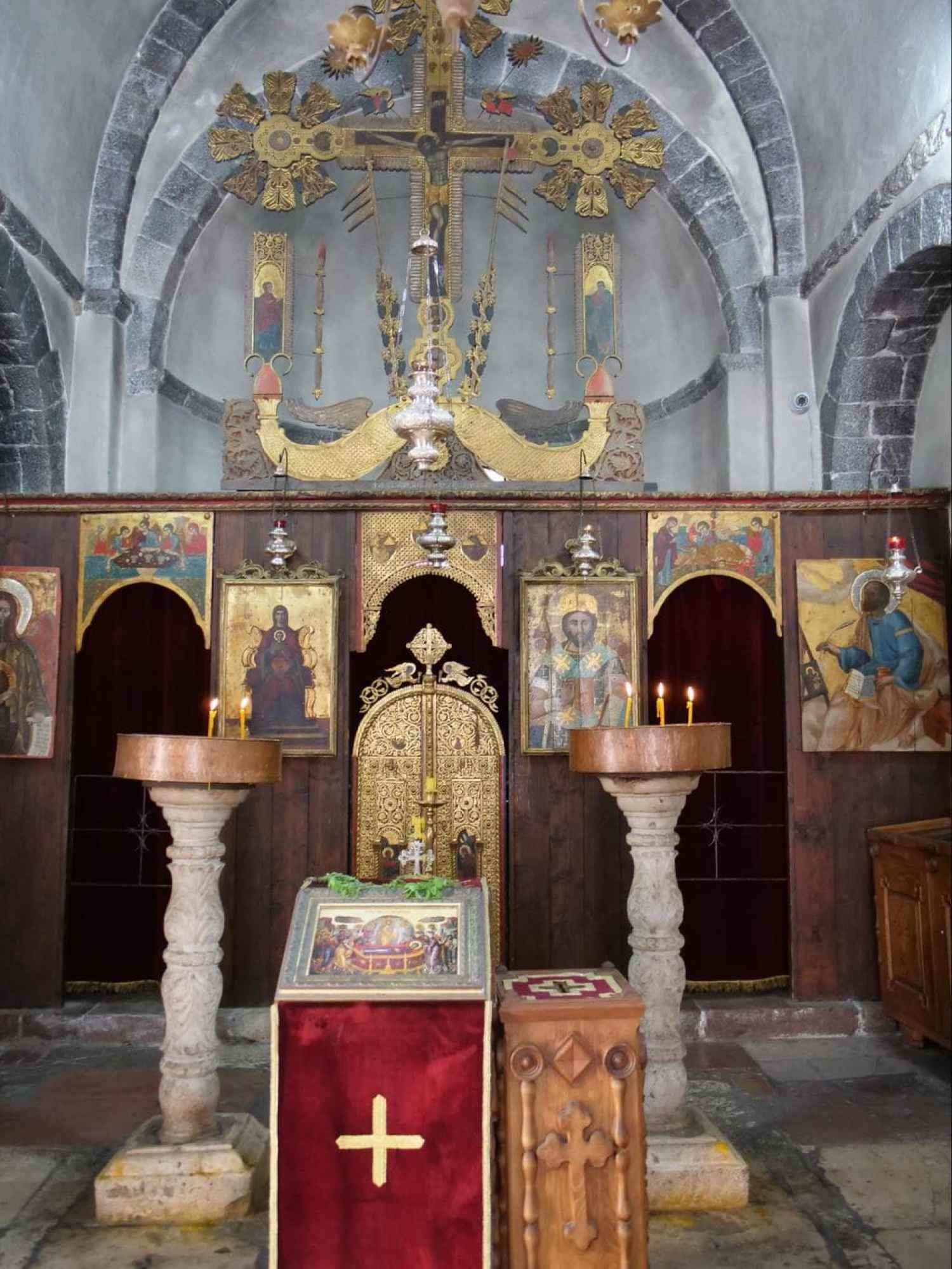 St. Luke's Church interior