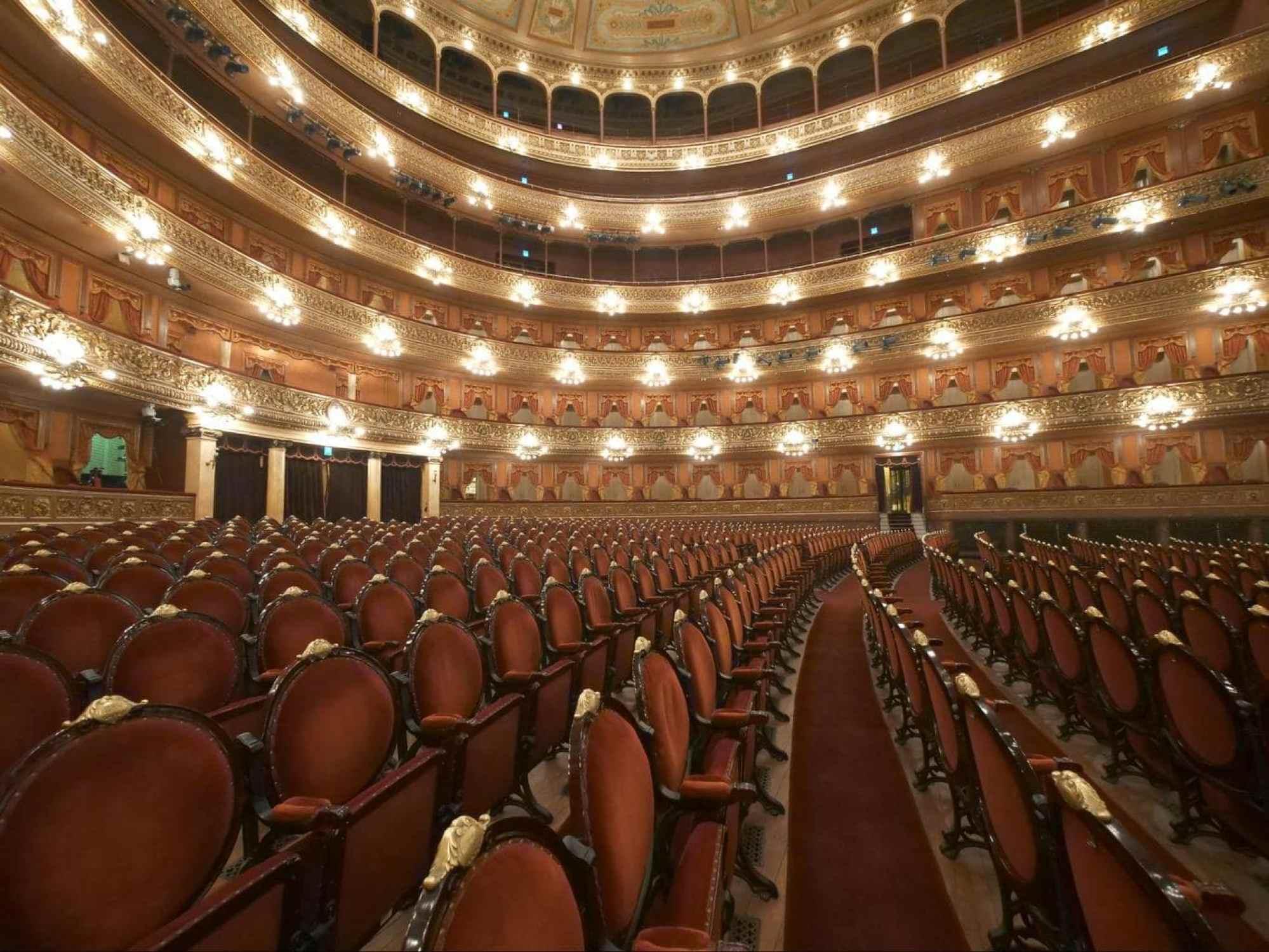 Teatro Colon interior