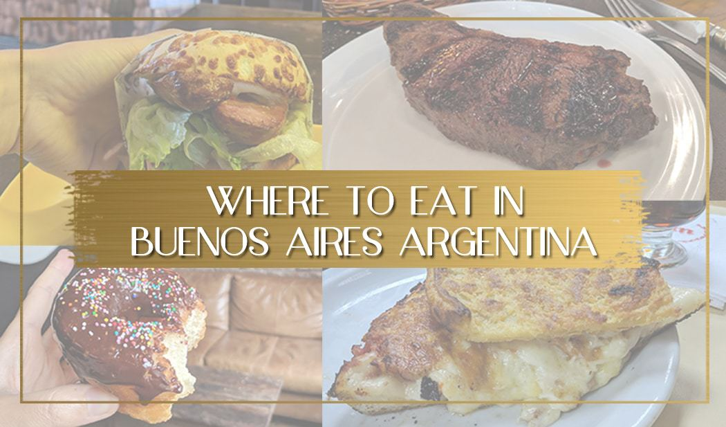 Where to eat in Buenos Aires main