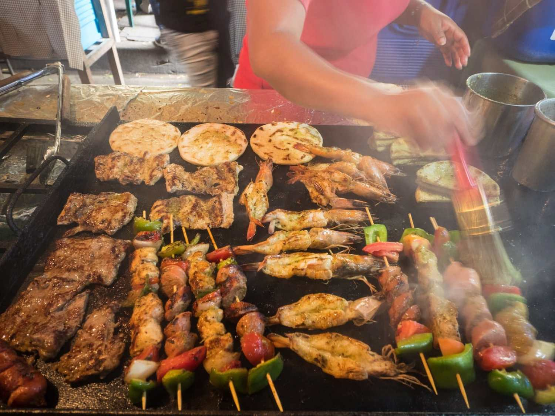 """Salvadorian grilled meats"""