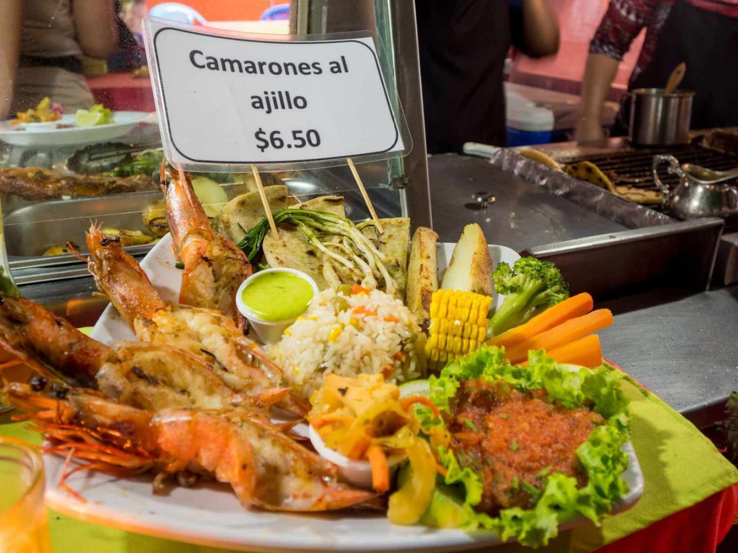 """""""Grilled seafood Salvadorian style"""""""