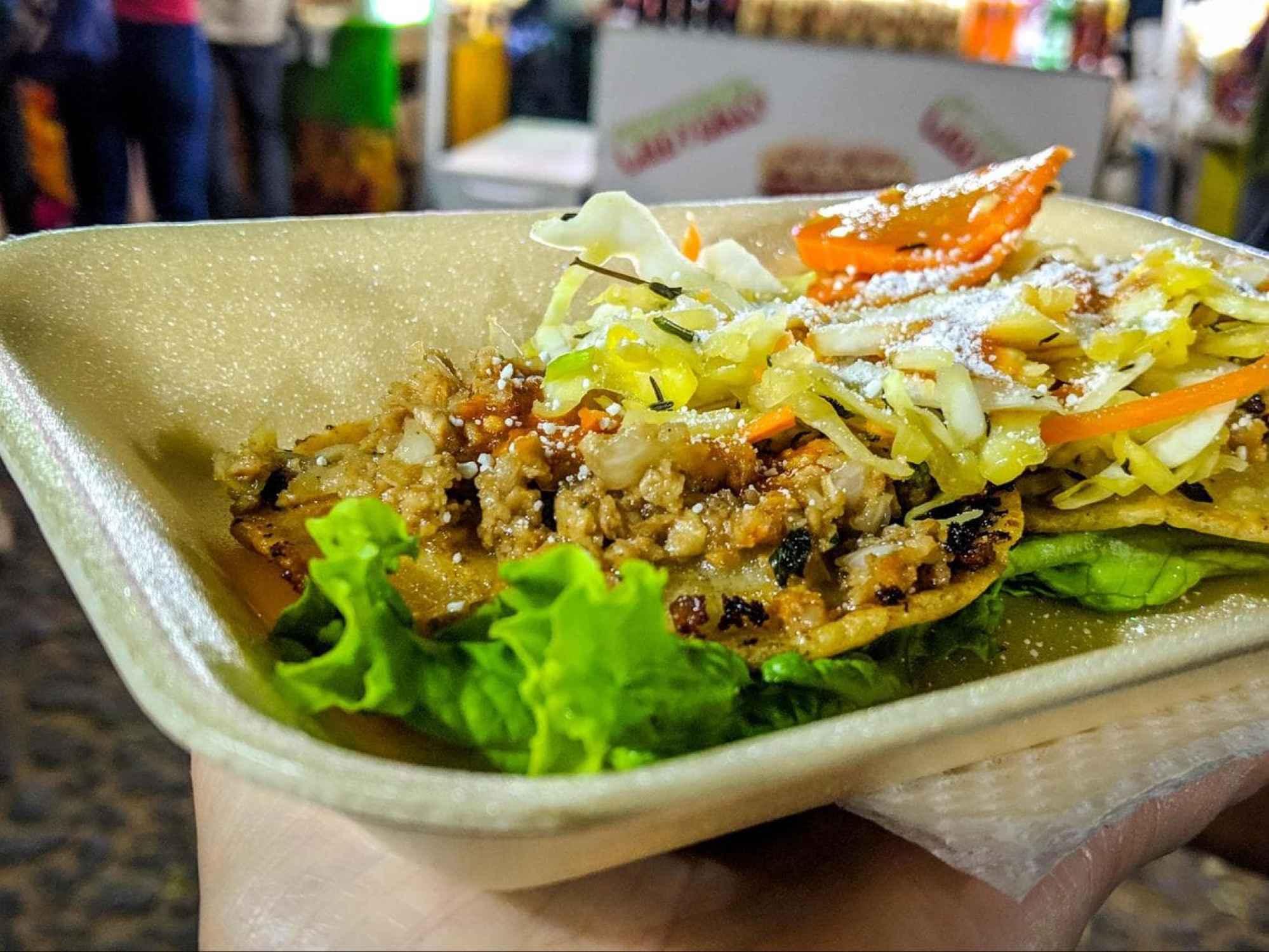 Enchiladas or Tostadas