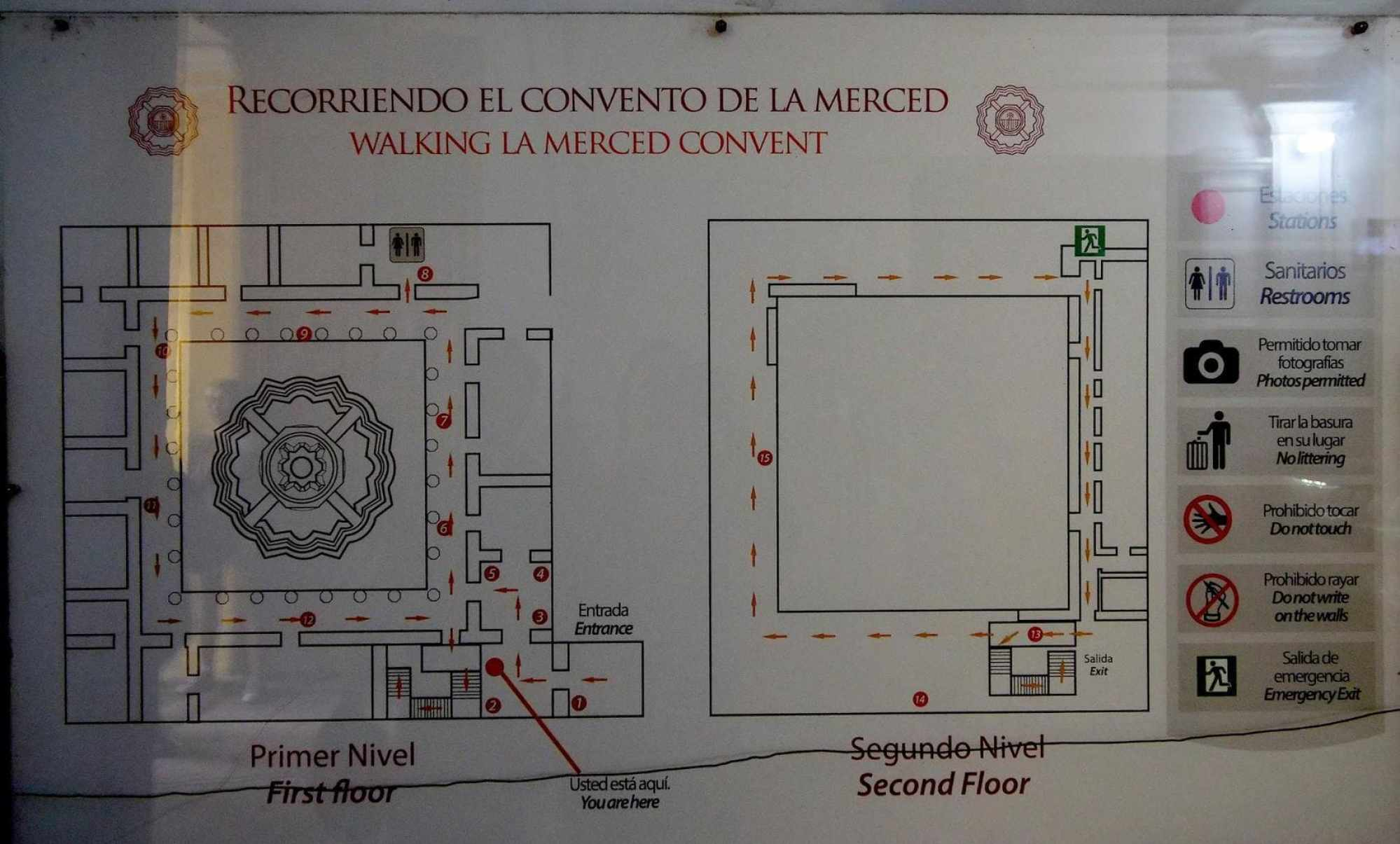Map of Iglesia de la Merced