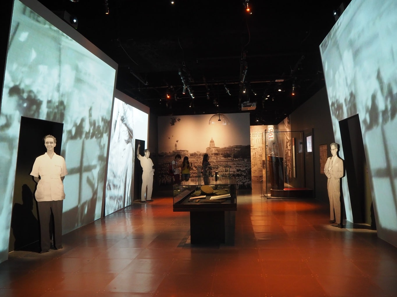 National Museum of Singapore interactive display