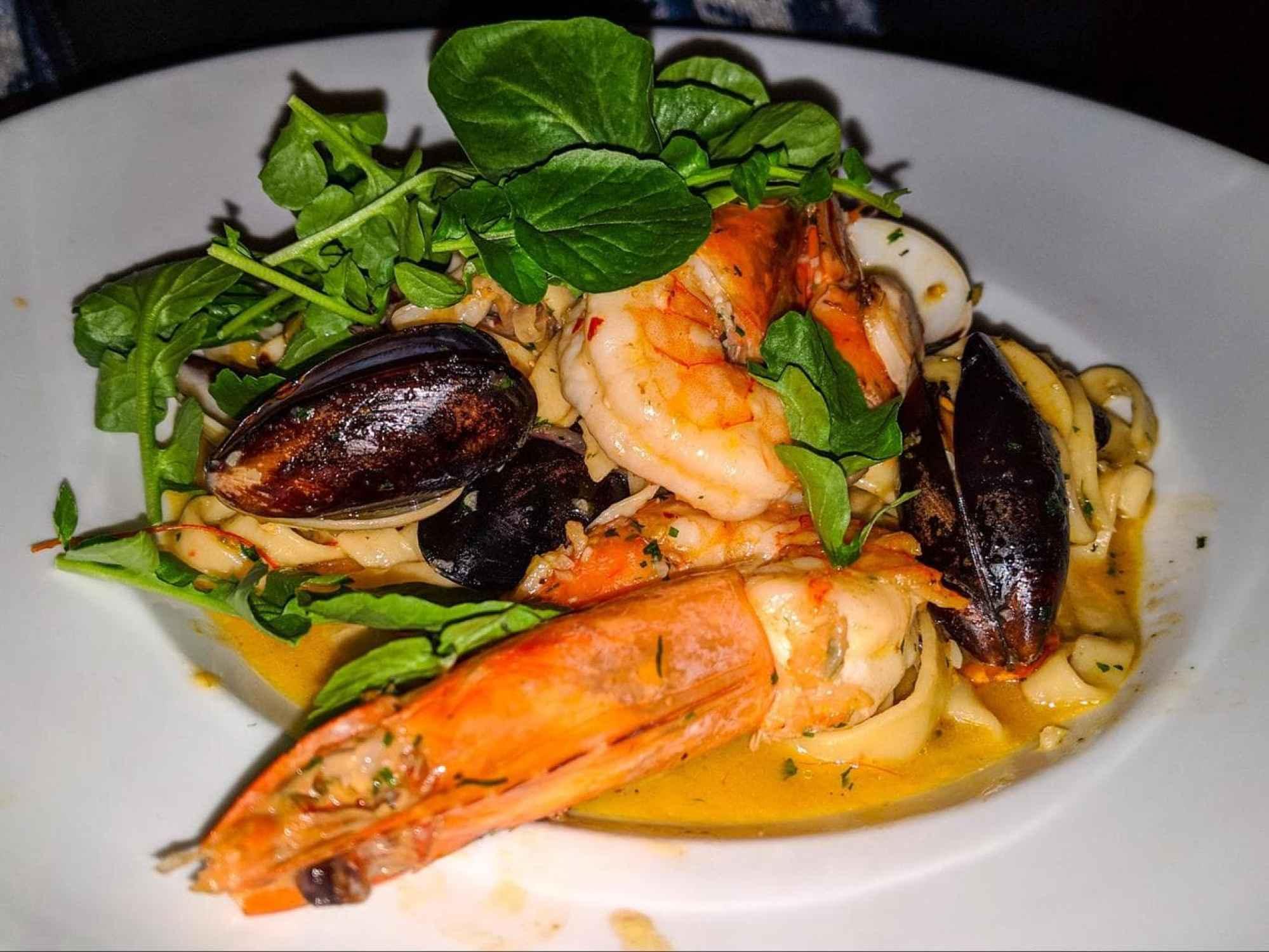 Tapado, creole fish and seafood stew