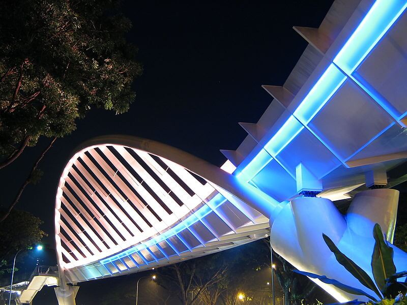 Alexandra Arch at night