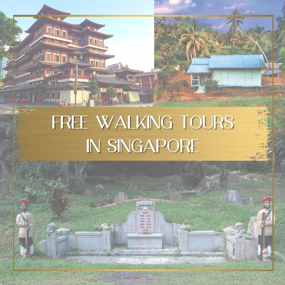 Free walking tours in Singapore feature