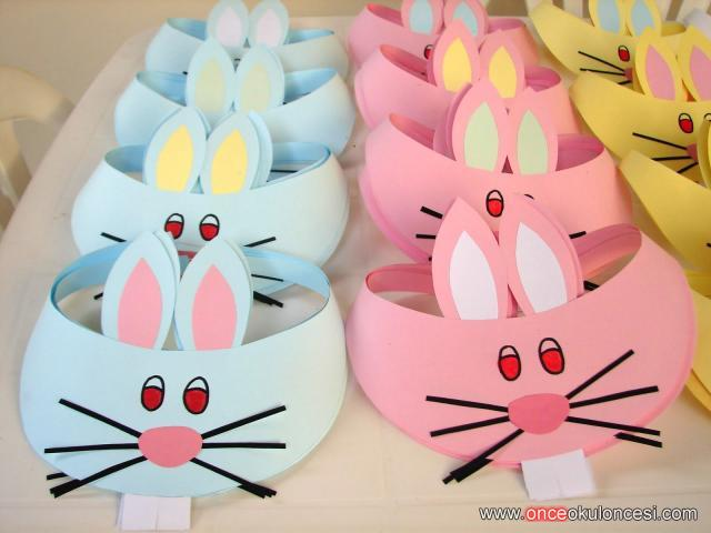 Easter Basket Craft For Kindergarten