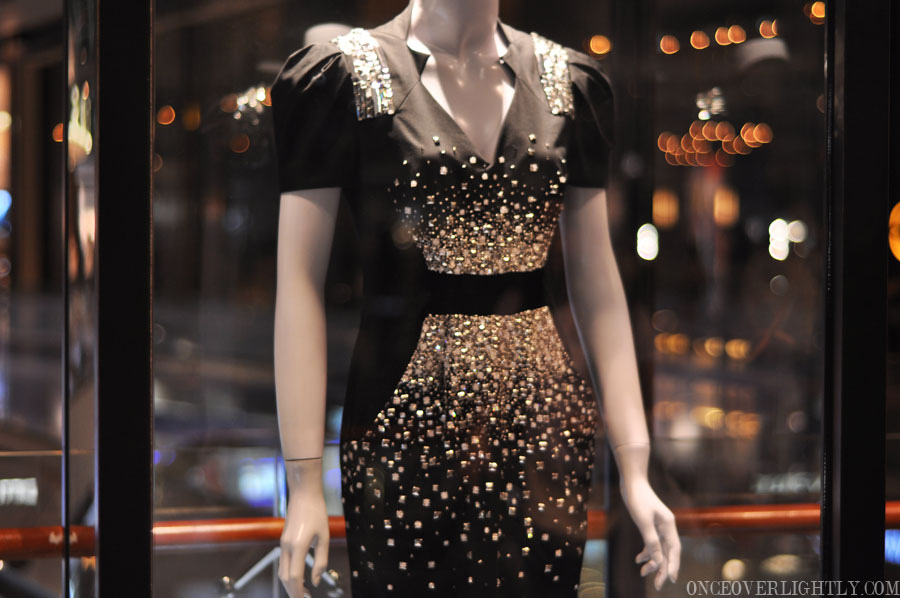 Up Close With Blair Waldorfs Dress From Gossip Girl Season 4 Once