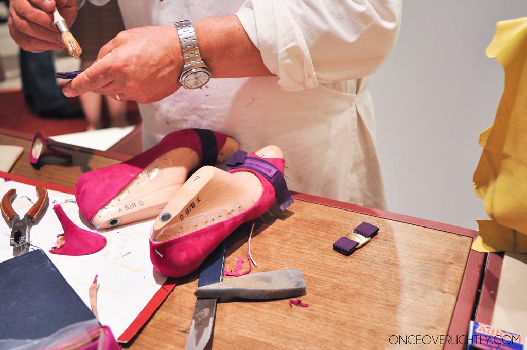 Salvatore Ferragamo Shoemaking