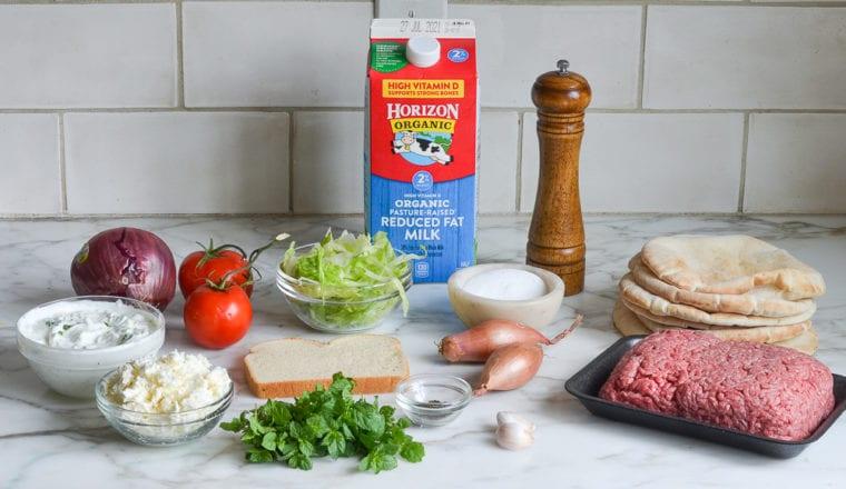 lamb burger ingredients