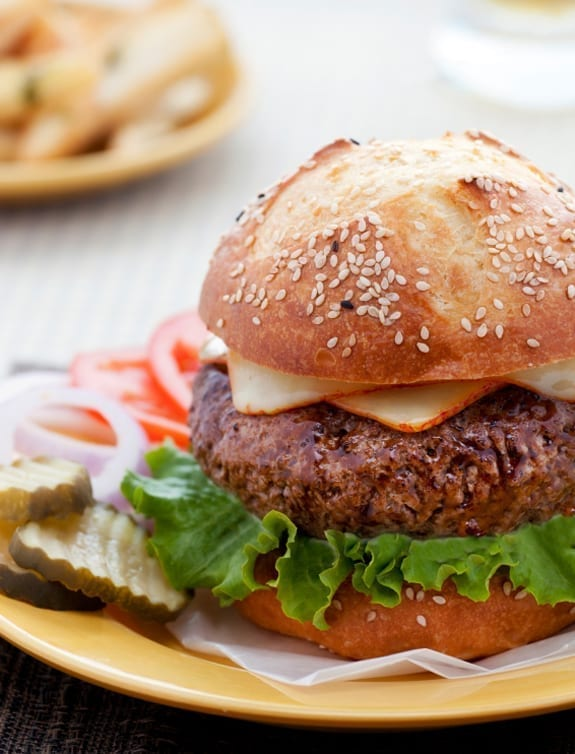 Juicy Steakhouse Burger Recipe