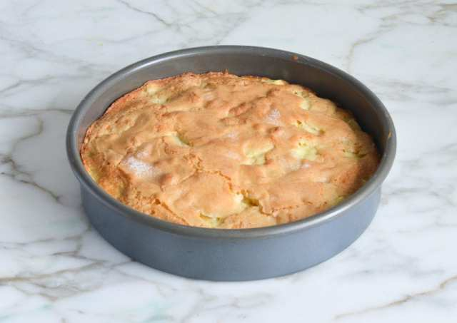 prăjitură franțuzească cu mere