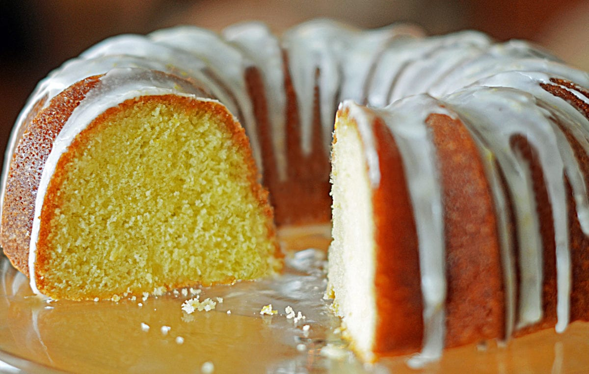 Lemon Buttermilk Pound Cake Once Upon A Chef