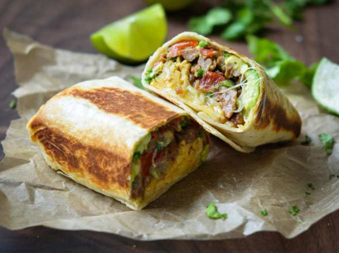 Breakfast Burritos - Once Upon a Chef
