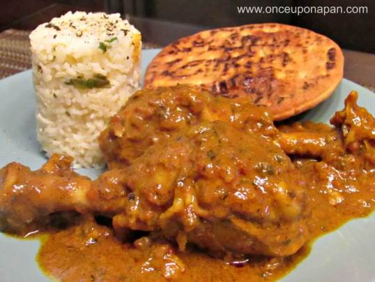 Homemade Masala sauce with chicken