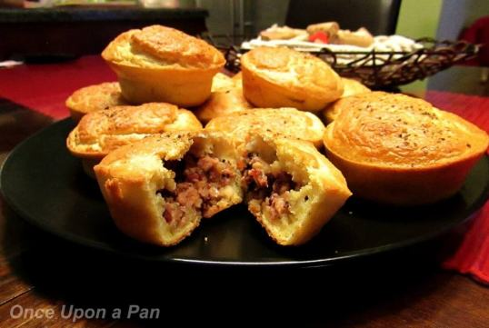 sausage meat pies