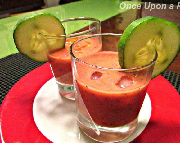 Easy Spanish Gazpacho