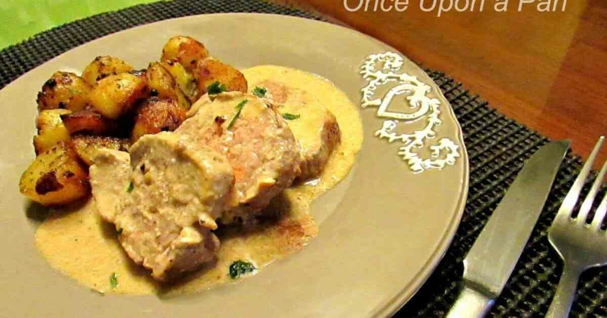 pork tenderloin with coffee cream sauce