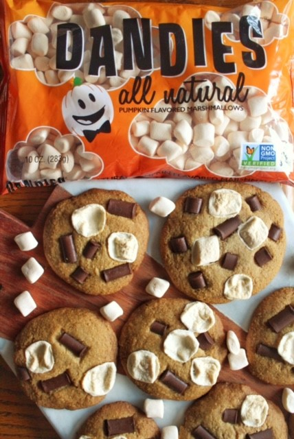 Pumpkin Spice S'more Cookies