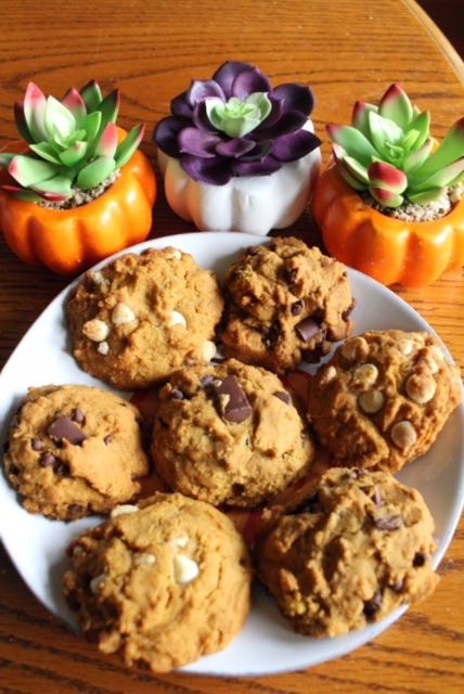 gluten and dairy free pumpkin cookies