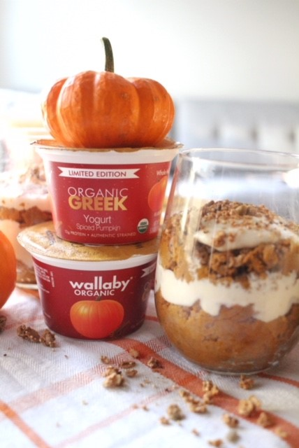 Dreamy Pumpkin Parfaits